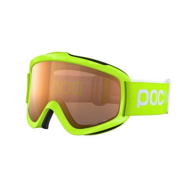 GOGLE POC POCITO IRIS FLUORESCENT GREEN - 2020/21